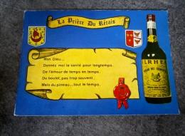 Carte Format 15 X 10,5 île De Ré La Prière Du Retais ( Pineau Des Charentes ) - Ile De Ré