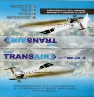 AFRICA  SENEGAL TRANSAIR BILLET AVIATION AIRLINE PASSENGER TICKET - Biglietti