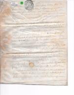 CHALONS   1780-  23 Sols 4 Deniers   - PARCHEMIN - Gebührenstempel, Impoststempel