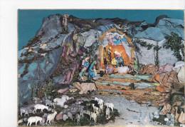 CRECHE, Moutons, Joyeux Noël, Belgique, Ed. Garami 1960 Environ - Noël