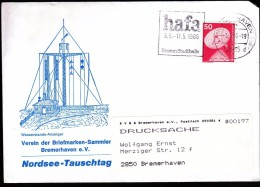 Germany Bremerhaven 1986 / Hafa Bremen Exposition / Machine Stamp - Marcofilia - EMA ( Maquina De Huellas A Franquear)