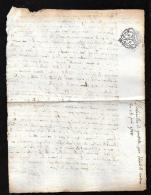 Gueret 1788 - Déclaration Grossesse De Elisabeth Sellon,  Oeuvres De Guillaume Niveau ( Creuse ) - Qaa05 - Documents Historiques