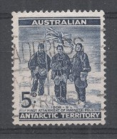 Australian Antarctic Territory 1961. Scott #L6 (U) Edgeworth David, Douglas Mawson And A.F. McKay ** - Australisch Antarctisch Territorium (AAT)
