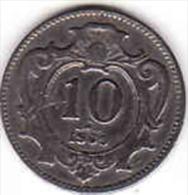 Österreich - AUSTRIA, 10 HELLER 1909 - Oesterreich