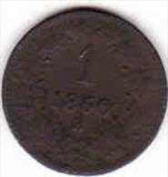 Österreich - AUSTRIA, 1 KREUZER 1860 B - Oesterreich