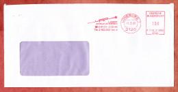 Brief, Francotyp-Postalia F21-0862, LAP Laser Applikationen, 100 Pfg, Lueneburg 1990 (28967) - BRD