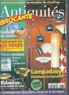 """ANTIQUITES BROCANTE  N° 36  """" VAISSELLE DE CHASSE / LAMPADAIRES / BALANCES DE CUISINE """" -  NOVEMBRE  2000 - Brocantes & Collections"""