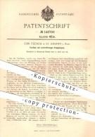 Original Patent - Ch. Fleisch , St. Johann / Saar , 1902 , Tierfalle Mit Sektorfrömigen Fangklappen , Falle , Tierfallen - Historische Dokumente