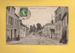 * CPA..dépt 95..LOUVRES : La Route De Paris  : Voir Les 2 Scans - Louvres