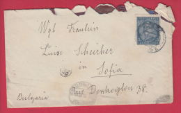 204417 / 1932 - 3 DIN. - KING ALEXANDER  ,  CELJE ( Slovenia ) - SOFIA POSTMAN 23 BULGARIA ,  Yugoslavia Jugoslawien - 1931-1941 Kingdom Of Yugoslavia