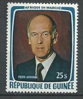 """Guinée Aerien YT 136 """" Visite Pdt Giscard D´EStaing """" 1979 Neuf** - Guinée (1958-...)"""