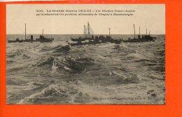 Les Monitors Franco-Anglais Qui Bombardèrent Les Positions Allemandes De Nieuport à Blankerberghe (bâteaux) - Nieuwpoort