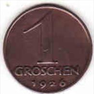 Österreich - AUSTRIA, 1 Groschen 1926 - Oesterreich