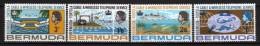 BERMUDA - 1967 Scott# 214/217 * CPL - Bermuda