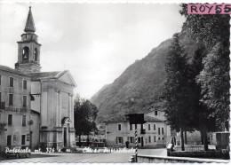 Veneto-vicenza-pedescala Centro Veduta Trattoria Chiesa Grillo D'oro Anni 50/60 - Italia