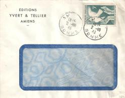 N°761sur Lettre De AM Du 2/10/46 - Hongrie