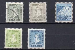 ISLANDE   Série De Timbres De 1935   ( Ref2390 ) - 1944-... Repubblica
