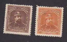 El Salvador, Scott #79-80, Mint No Gum/Hinged, Pres Carlos Ezeta, Issued 1893 - El Salvador