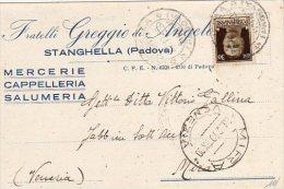 PADOVA -   Stanghella - Fratelli Greggio Di Angelo - - Padova (Padua)