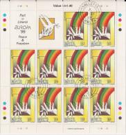 1995 Malta Mi.  945-5 **MNH Used Sheet Europa - Europa-CEPT