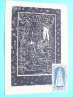 Afstempeling 1967 Vooraan En Achteraan Zie Foto Details Aub ! ( Formaat PK / CP - Details Zie Foto ) ! - Ex-libris