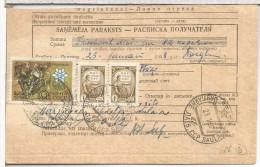 URSS 1968 DOCUMENTO DE GIRO SELLO HOCKEY HIELO ICE MONEY ORDER - Hockey (Ice)