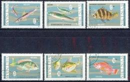 G016 FAUNA VISSEN FISH POISSONS FISCHE VIETNAM 1967 Gebr / Used - Poissons
