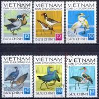 G017 FAUNA VOGELS BIRDS OISEAUX VÖGEL AVES VIETNAM 1972 Gebr / Used - Oiseaux