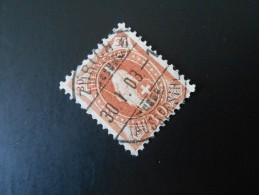 CH ZNr.68E   30C  Stehende Helvetia   Kz Ll  Weisses Papier  14 Vertikalzähne  1901/03 - 1882-1906 Coat Of Arms, Standing Helvetia & UPU