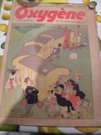 Oxygène Hebdomadaire 25 Janvier 1950 N°9 Dessin De Dubout - Libri, Riviste, Fumetti