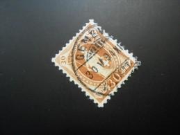 CH ZNr.68D   30C  Stehende Helvetia   Kz Ll  Weisses Papier  13 Vertikalzähne  1894 - 1882-1906 Coat Of Arms, Standing Helvetia & UPU