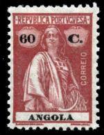 !■■■■■ds■■ Angola 1925 AF#217* Ceres 60 Centavos CV €99,00 (x1953) - Angola