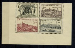 CHECOSLOVAQUIA. AÑO 1950. Mi 630/633 - Yv  553A/553D  (MNH) - Tschechoslowakei/CSSR