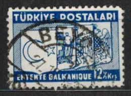 TÜRKEI 1937 - MiNr: 1015  Used - Gebraucht