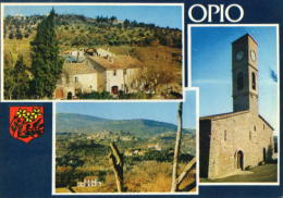 Opio - Le Vieux Moulin à Huile - Vue Générale - L´église - Francia