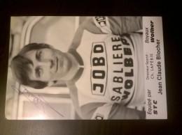 Jean Claude BLOCHER JOBO SABLIERE WOLBER Autographe Manuscrit - Cyclisme