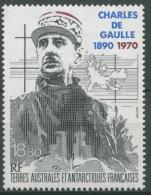 Franz. Antarktis 1991 100. Geburtstag Von Charles De Gaulle 282 Postfrisch - Neufs