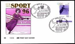 Germany Berlin 1996 For Sport, Ice Skating, Annie Hübler-Horn Olympic Winner 1908 - Winter (Other)