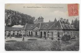 (RECTO / VERSO) LUXEUIL LES BAINS EN 1906 - N° 13 - FACADE DE L' ETABLISSEMENT THERMAL - BEAU CACHET - CPA - Luxeuil Les Bains