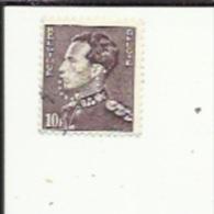 Timbre 10 Fr -Leopold III_Perforé ( C  L )  Bon Etat 1942 - 1934-51