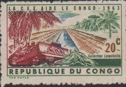 Congo Mi 131 The European Union Is Helping Congo - 1963 - Postzegels