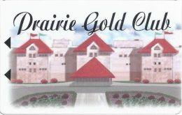 Prairie Meadows Racetrack Altoona, IA BLANK Slot Card - 16mm Logo, 23mm Text - Casino Cards