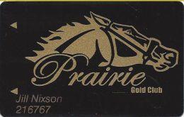 Prairie Meadows Racetrack Altoona, IA - Slot Card - Casino Cards
