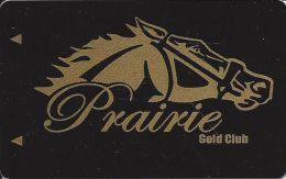 Prairie Meadows Racetrack Altoona, IA - BLANK Slot Card - Casino Cards