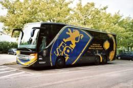 Sochaux (25) Bus Du Football Club Sochaux Montbeliard - Buses & Coaches