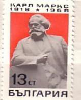Bulgaria  1968  Karl Marx  1v.-MNH - Karl Marx