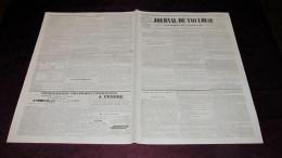 GRAND CONCERT VOCAL ET INSTRUMENTAL AU SALON DU GRAND-ORIENT - JOURNAL DE TOULOUSE DE 1844. - 1800 - 1849