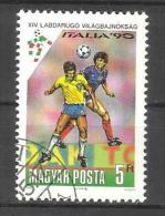 "HUNGARY, 1990, ""Italia 90"", World Cup Football, 1 V, FINE USED - 1990 – Italia"