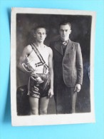 Foto Te IDENTIFICEREN Anno +/- 1921 Georges Schiffeleen (???)( Photo ? / Zie Foto Voor Détails ) ! - Sports