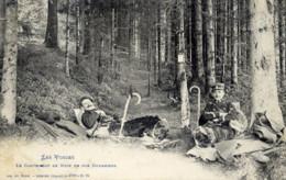 Les Vosges Le Campement De Nuit De Nos DOUANIERS - Douane
